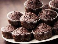 Постни шоколадови (какаови) мъфини без яйца и мляко (с вода)